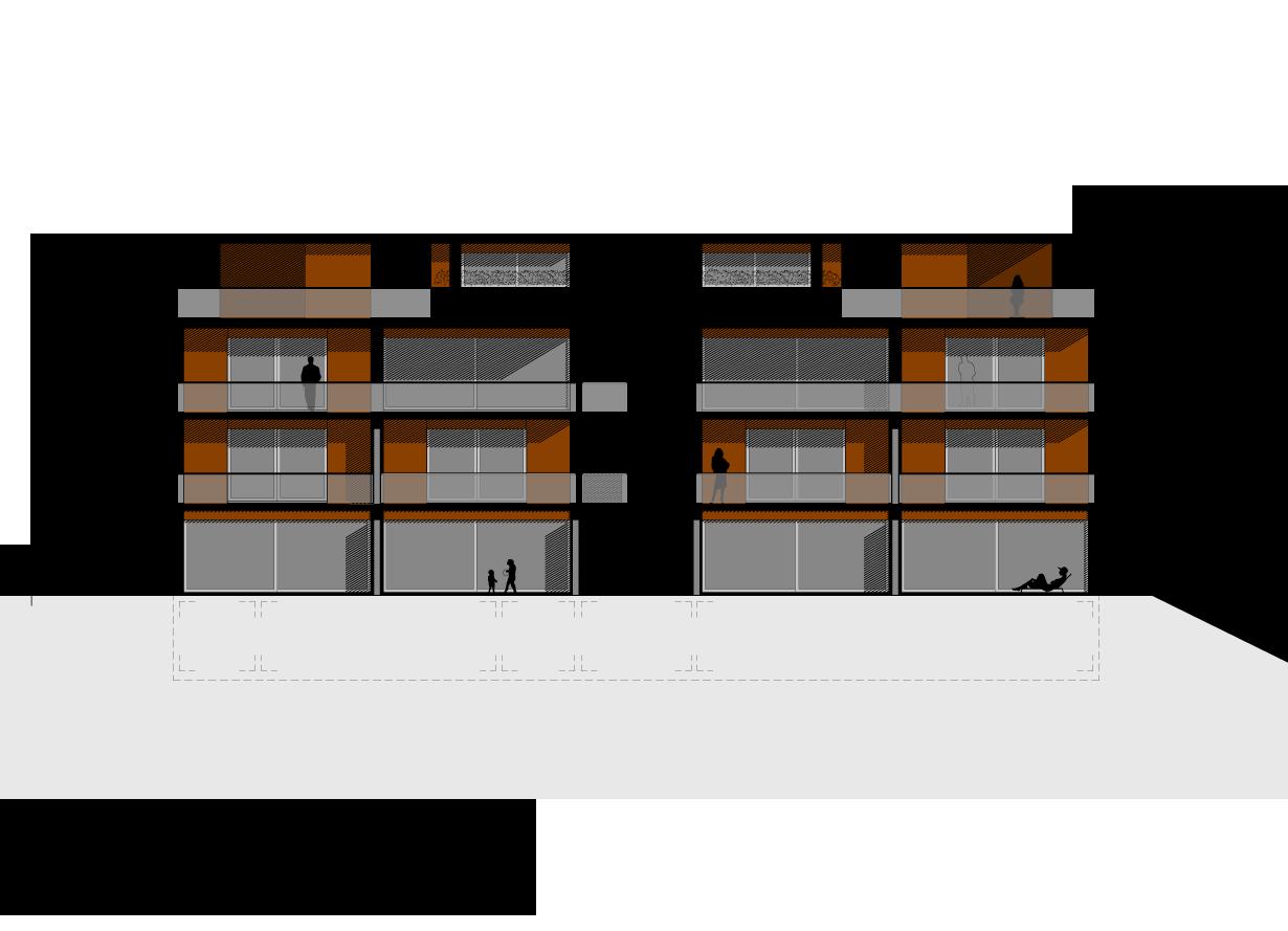 Projet pour la construction d 39 un immeuble de 6 alogements for Cout de construction immeuble